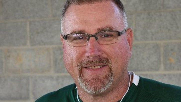 Carter football coach Jeff McMillian in 2015.
