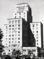 The Westward Ho hotel in downtown Phoenix, circa 1930s.