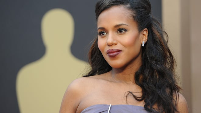 Actress Kerry Washington arrives on the red carpet for the 86th Academy Awards on March 2nd, 2014 in Hollywood, California. AFP PHOTO / Robyn BECKROBYN BECK/AFP/Getty Images
