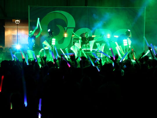 Angelo State University held a Welcome Back Bash concert