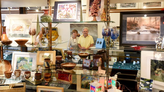 Ted and Ellen Stiffler are retiring later this summer, the have owned the Artspace Art Gallery at 106 N. Main St. for the past six years.