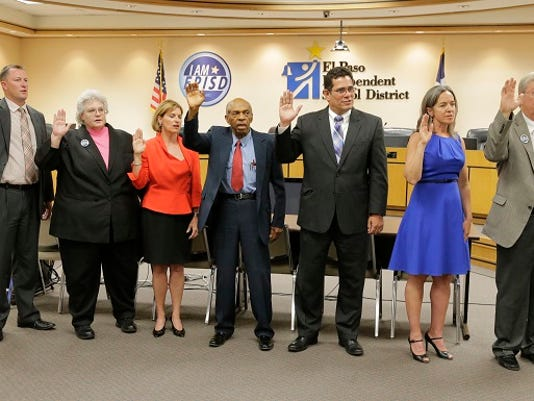 EPISD-trustees-sworn-in-May2015