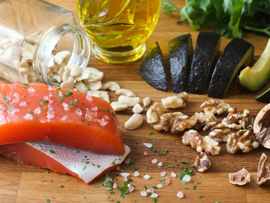 Omega-3s are found in certain fatty fish, nuts and