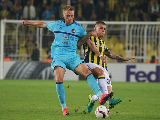 Danes lead the way in dutch league at halfway stage - Netherlands soccer league table ...