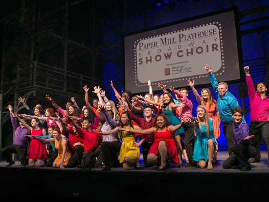 The Paper Mill Playhouse Broadway Show Choir will launch a month-long tour of the state on May 14 at Villagers Theatre in the Somerset section of Franklin.