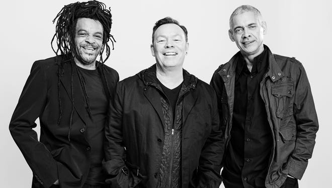 Founding UB40 members Astro (left), Ali Campbell and Mickey Virtue will play the group's hits on an upcoming North American tour.