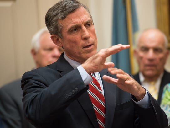 Delaware Governor John Carney talks about his plan