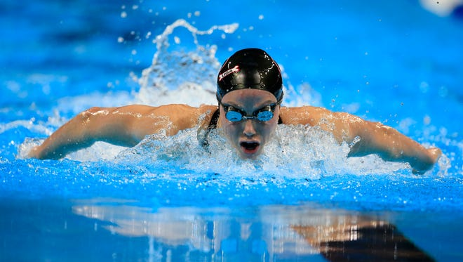 Spring Grove's Hali Flickinger will compete in this week's U.S. National Championships less than a year after swimming in the 2016 Olympics.