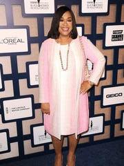 Shonda Rhimes, a past Essence award winner, was thanked by numerous attendees and honorees at the Black Women in Hollywood luncheon.