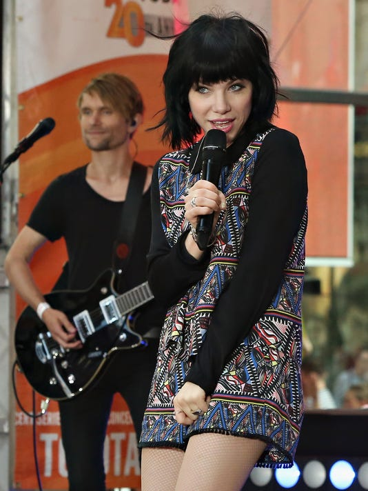 "Carly Rae Jepsen Performs On NBC's ""Today"""