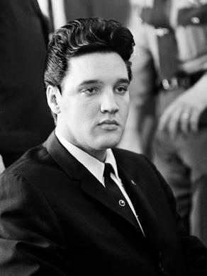 Elvis Presley is waiting in Gov. Buford Ellington office