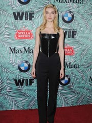 The tamest of the bunch? Nicola Peltz wore a structured