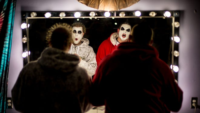 Twiztid, a hip-hop and metal band out of Michigan, is part of the line-up for the Vans Warped Tour that makes its final stop in Ventura Sunday. The band is fronted by Jamie Spaniolo and Paul Methric performing as Jamie Madrox and Monoxide.
