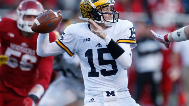 Michigan quarterback Jake Rudock