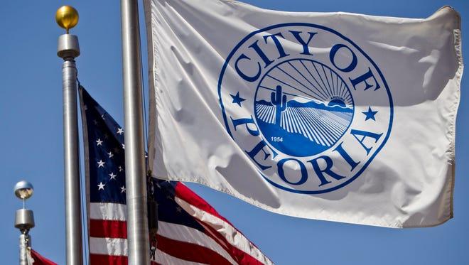 2. City of Peoria: 1,192employees.