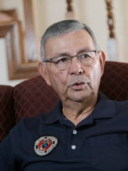 Marine Albert Miranda of El Paso talks about his time