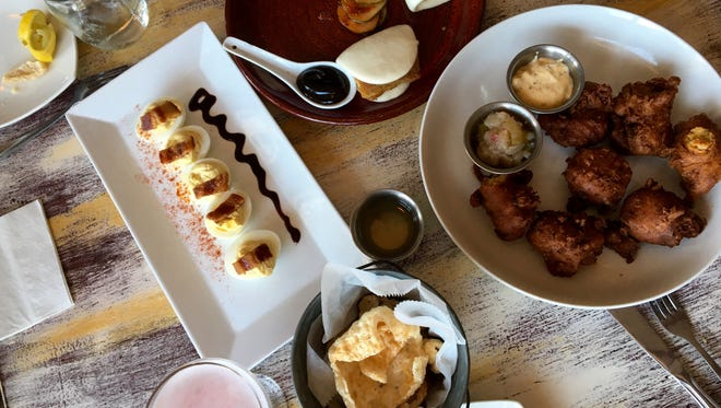 A sampling of small plates from Leroy's Southern Kitchen in Punta Gorda.