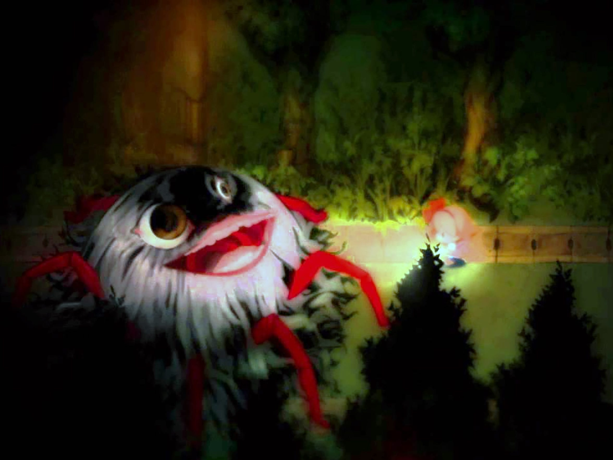 Creepy monsters abound in Yomawari Night Alone.