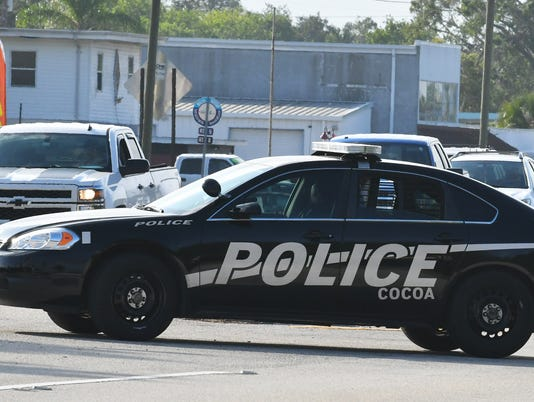 Cocoa police cruiser