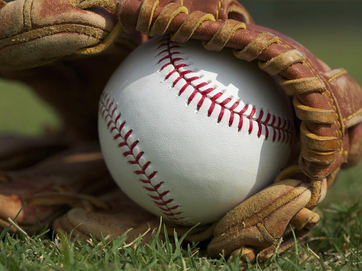 Baseball in a Glove