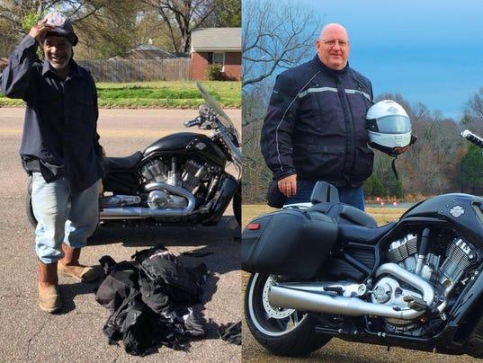 Good Samaritan helps stranded biker