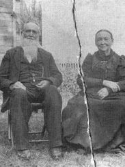 Ira S. Haseltine and his wife Augusta over 100 years