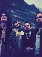 The Killers -- from left, guitarist Dave Keuning, bassist