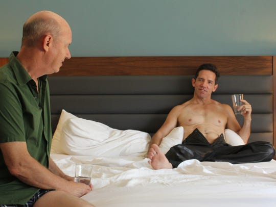 """Terry Ray (left) and Mel England in a scene from """"Electricity."""""""