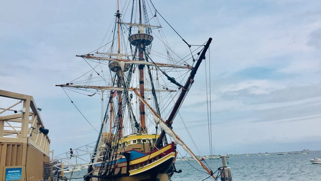 Mayflower II, the replica of the original Mayflower ship that brought the Pilgrims to Plymouth in 1620, is on again on view after undergoing three years and $11.2 million in renovations.