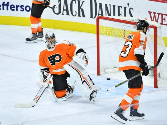 NHL: Vegas Golden Knights at Philadelphia Flyers