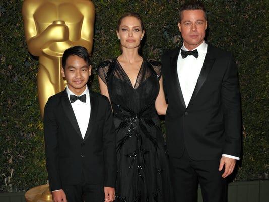 Maddox Jolie-Pitt, Angelina Jolie, Brad Pitt