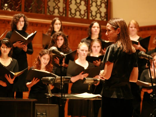 The Vassar College Women's Chorus, conducted by Modfest
