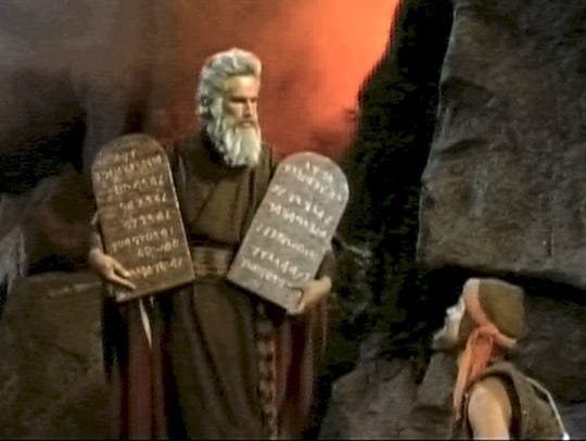 Charlton Heston in 'The Ten Commandments.' (Photo: Paramount Home Entertainment)