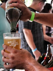 The Sun City Craft Beer Festival will feature beers from more than 150 breweries.