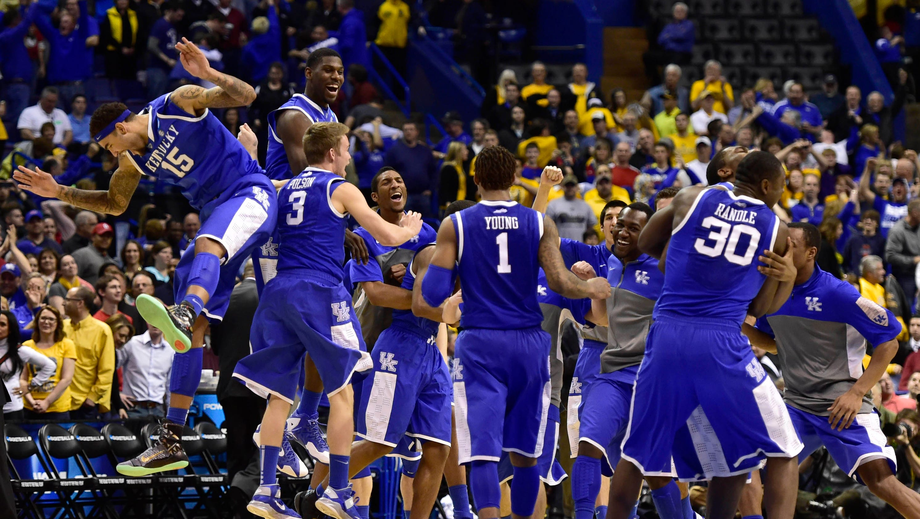 Sandy Baron Wallpapers Kentucky ends Wichita State s unbeaten run advances to Sweet