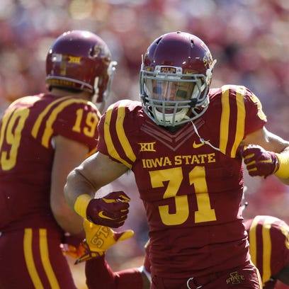 Iowa State linebacker Josh Jahlas has been placed on