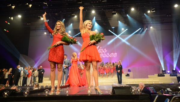Miss Scenic City and Miss Music City are the preliminary winners Friday night.