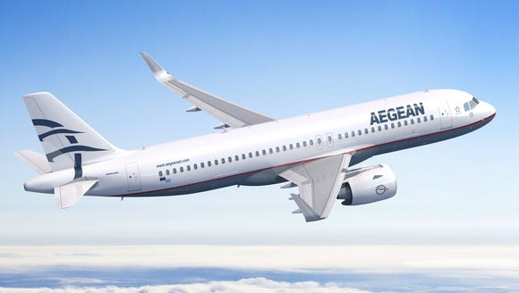 This rendering provided by Airbus shows an A320neo