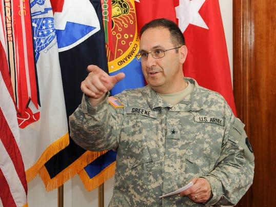 Gen. Harold Greene Afghanistan