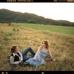 Gillian Welch and Dave Rawlings sing bluegrass in perfect harmony and write songs together. See them Tuesday at Hoyt Sherman Place.