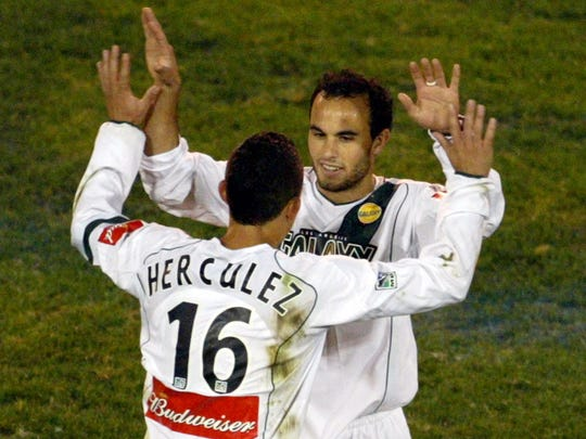 Herculez Gomez wore his first name on the back of his