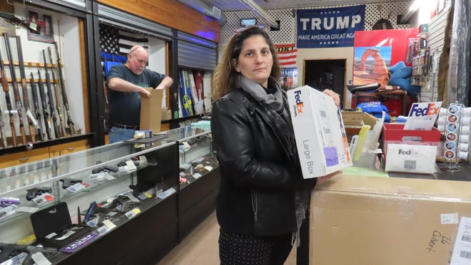Port Jervis businesswoman Maria Mann says she will continue to watch for suspicious mailings from her Fed Ex mailing location.