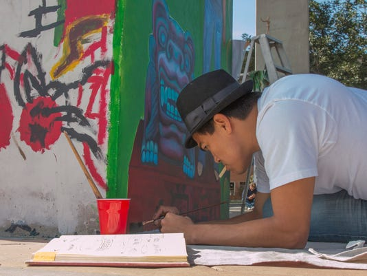 Chicano Park March 23 2014 by Phil Soto  02