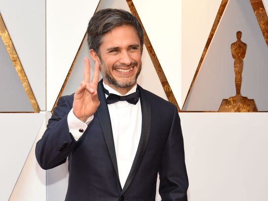 Gael Garcia Bernal at the 90th Annual Academy Awards