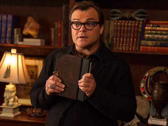 Jack Black who stars as R.L. Stine, Slappy, and Invisible