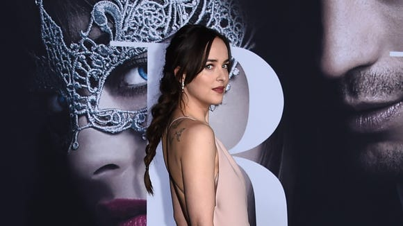 Dakota Johnson at the premiere of 'Fifty Shades Darker.'