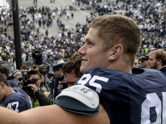All-American Carl Nassib became the ultimate former