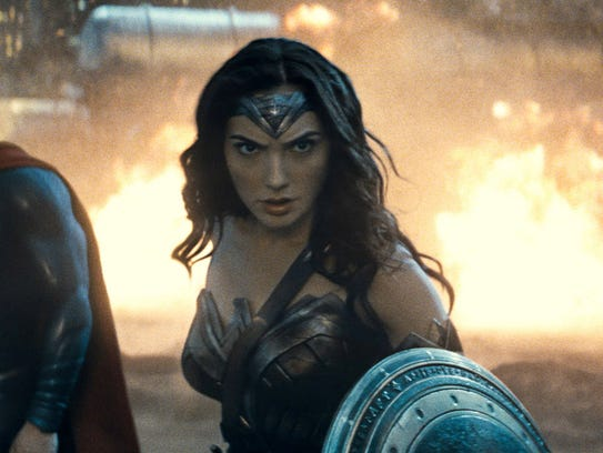 "Gal Gadot is Wonder Woman in ""Batman v Superman: Dawn"