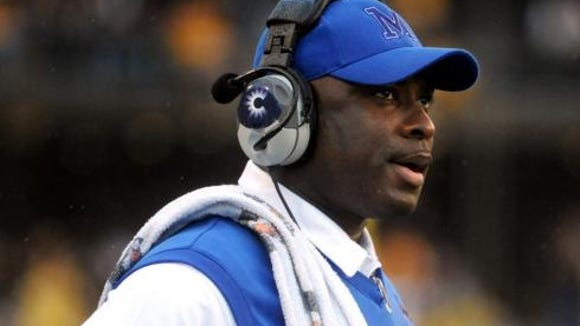 Former Memphis head coach, who recently served as running backs coach at North Carolina since 2014, has been reportedly hired at Auburn.