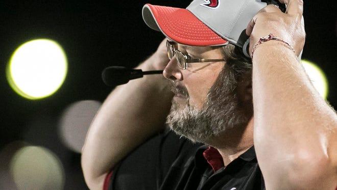 Dover Eagles head coach Wayne Snelbaker.